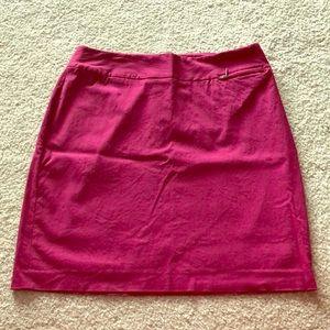 LB Pencil Skirt Fuchsia SZ 14
